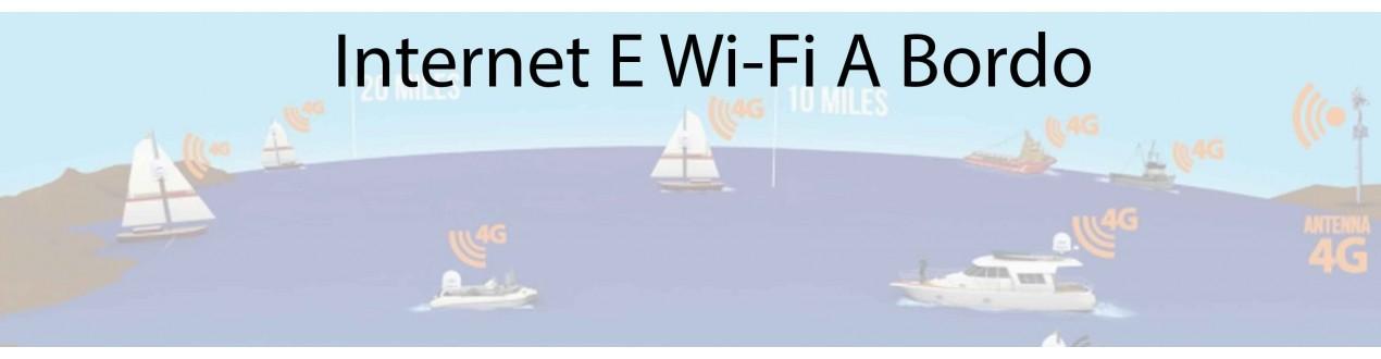 Internet e Wi-Fi a bordo