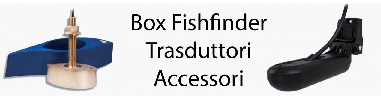 Box Fishfinder, Trasduttori ed accessori