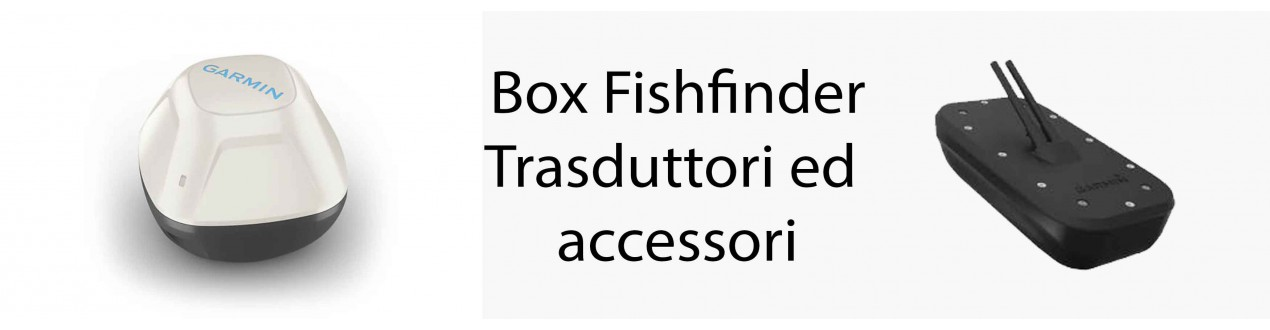 Box Fishfinder, Trasduttori ed accessori