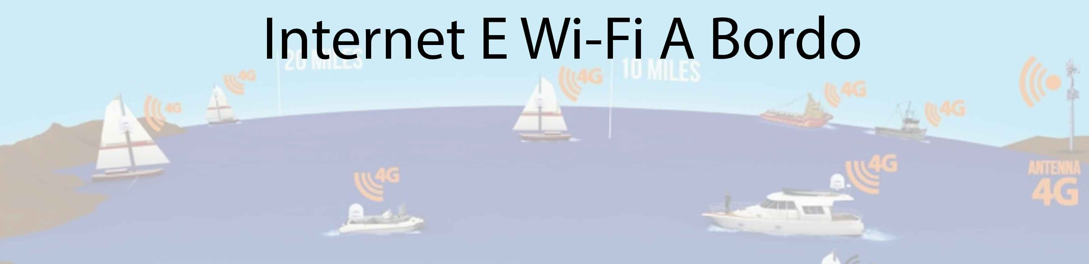 Internet e Wi-Fi a bordo